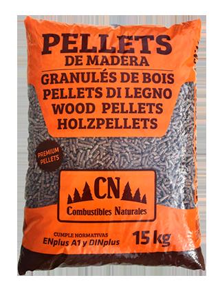 Pellets de madera - Combustibles Naturales SL