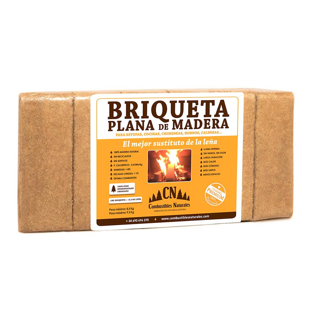 Briquetas de madera - Combustibles Naturales SL