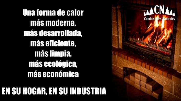 """¿Por qué utilizar la briqueta de madera de """"Combustibles Naturales""""?: Somos su alternativa a la leña"""